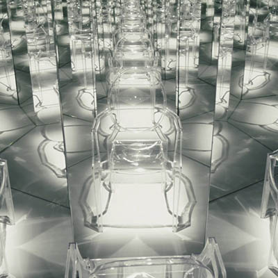 <h3 class=works>Kartell</h3><h2>15 YEARS OF TRANSPARENCY</h2>